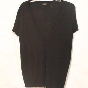 J CREW 100% Cashmere Sweater Cardigan Short Sleeve